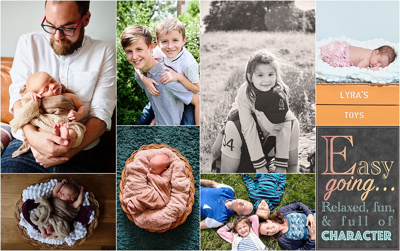 Family and Newborn Photographer in Godalming